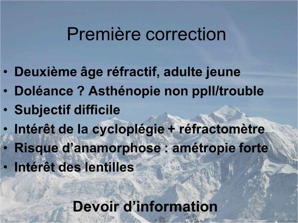 Première correction Devoir d'information