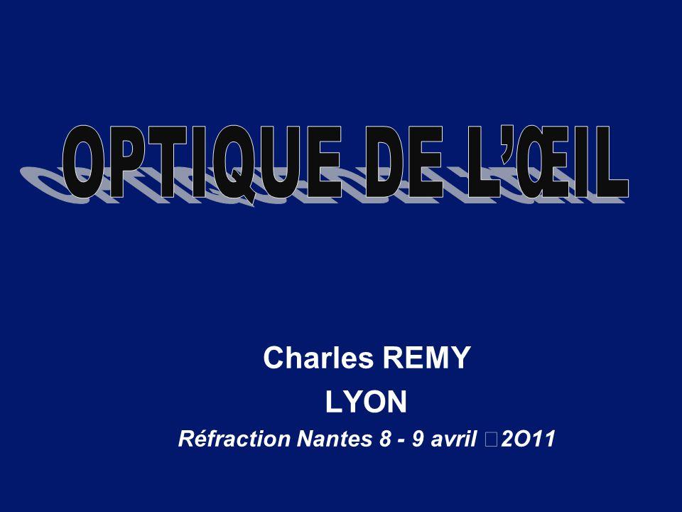 Charles REMY LYON Réfraction Nantes 8 - 9 avril 2O11