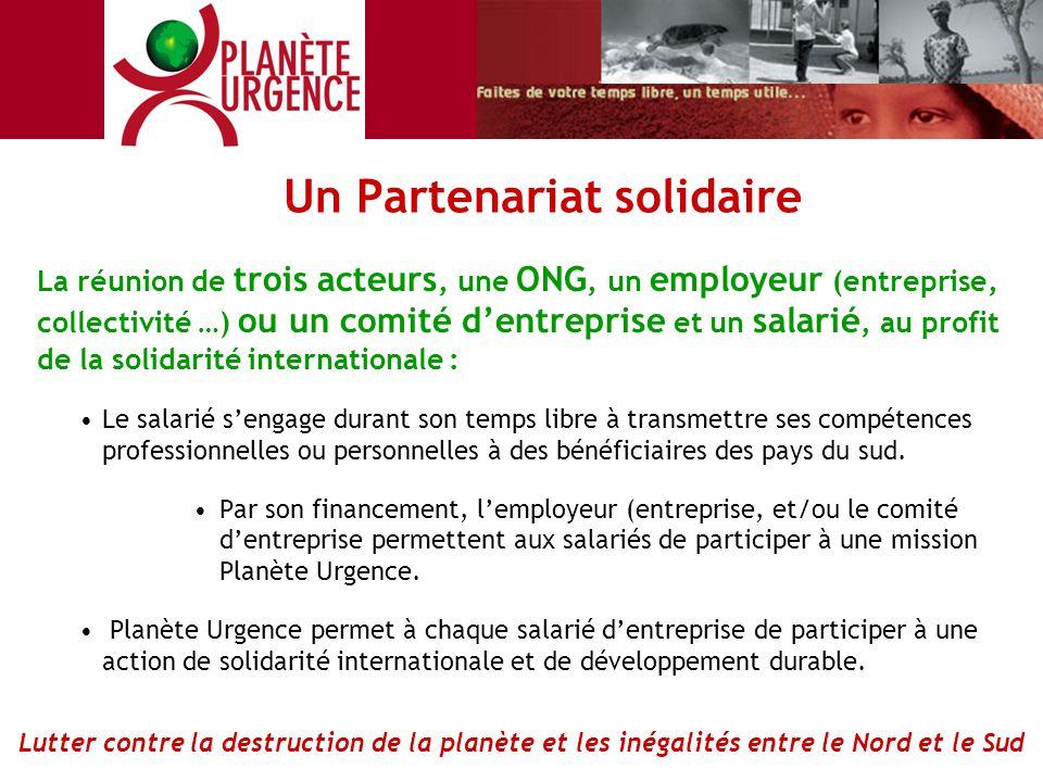 Un Partenariat solidaire
