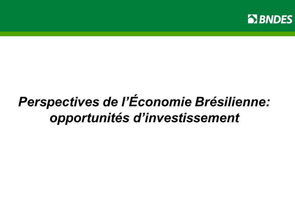 Perspectives de l'Économie Brésilienne: opportunités d'investissement