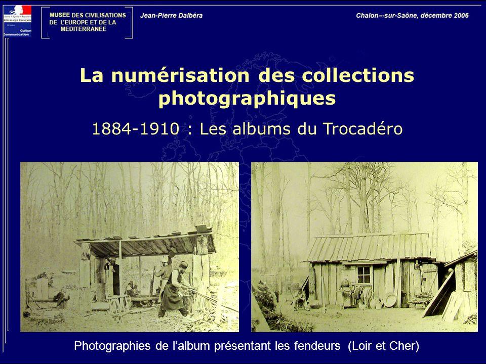 La numérisation des collections photographiques