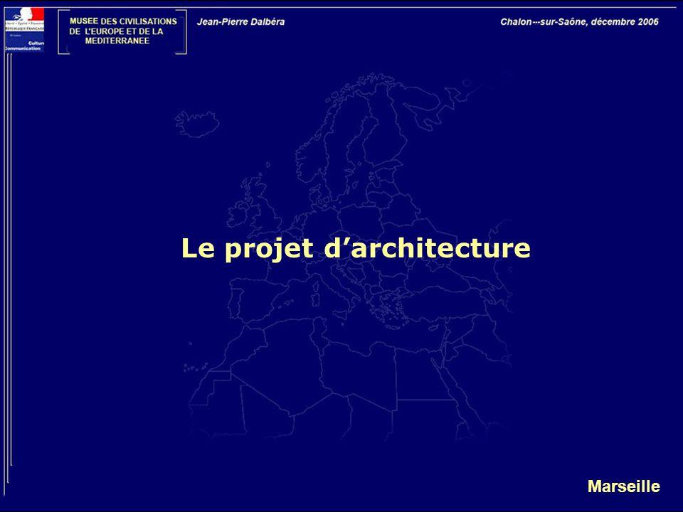 Le projet d'architecture