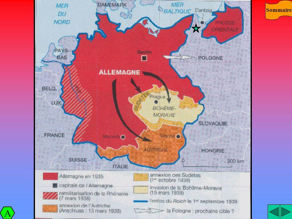 Sommaire L'expansion nazie A