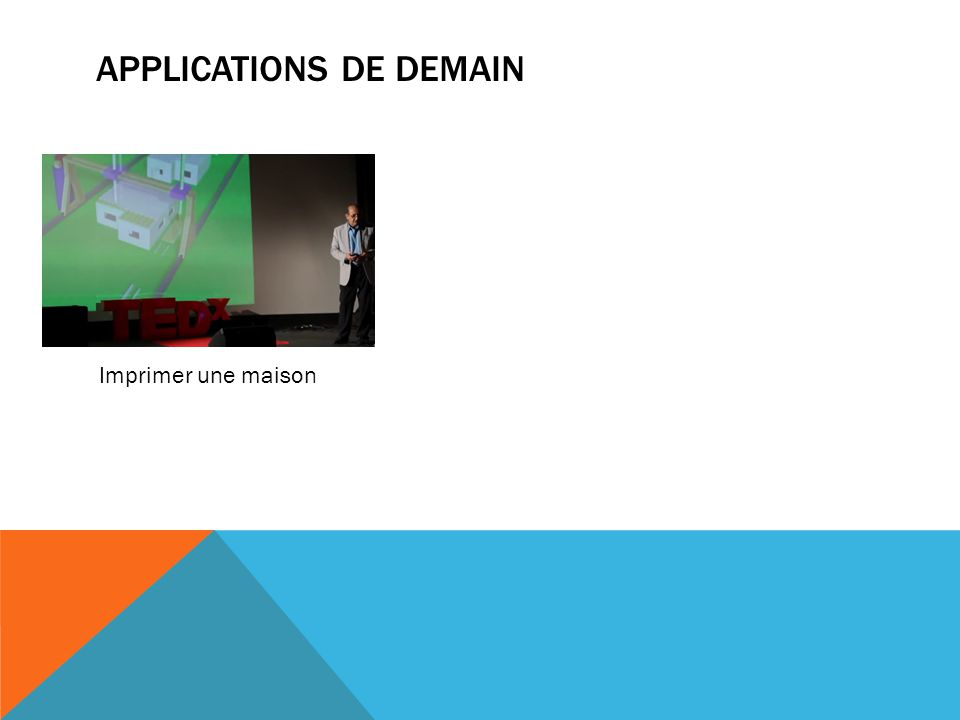 Applications de demain