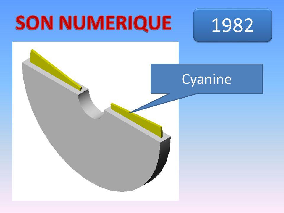 SON NUMERIQUE 1982 Cyanine