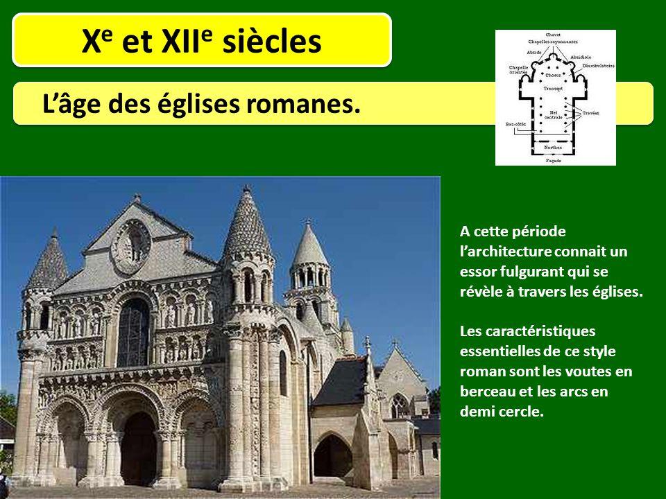 Xe et XIIe siècles L'âge des églises romanes.
