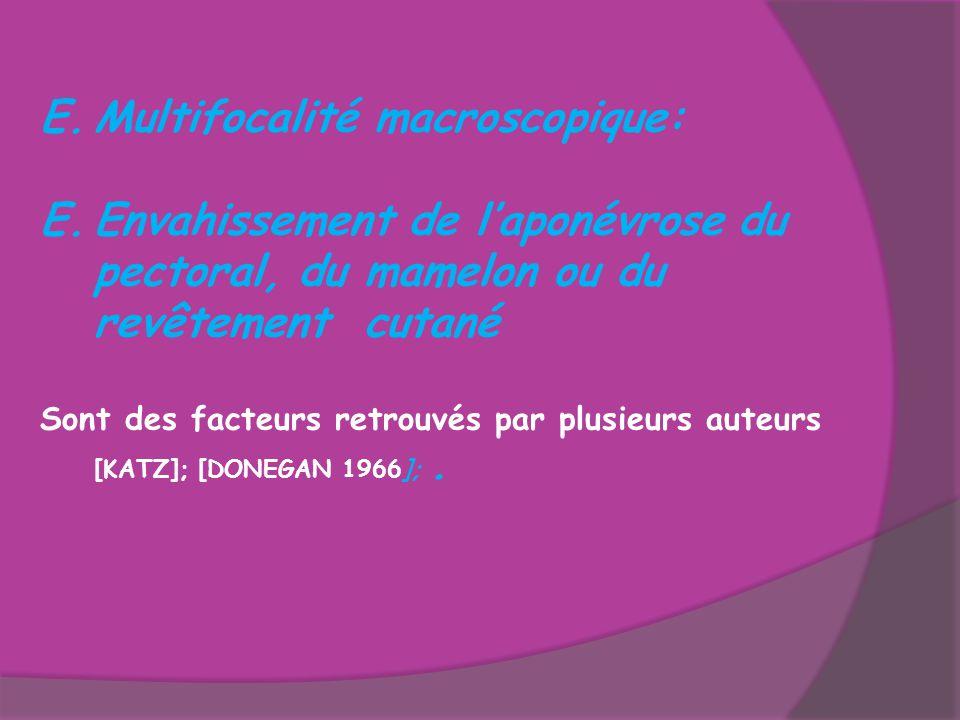 Multifocalité macroscopique: