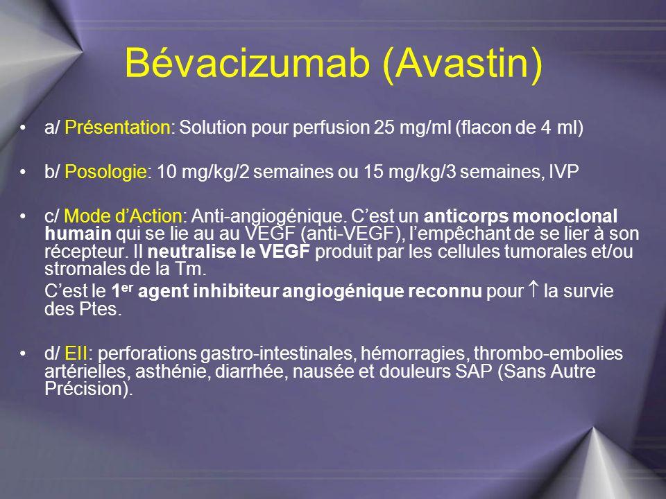 Bévacizumab (Avastin)