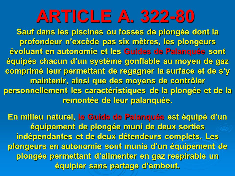 ARTICLE A. 322-80