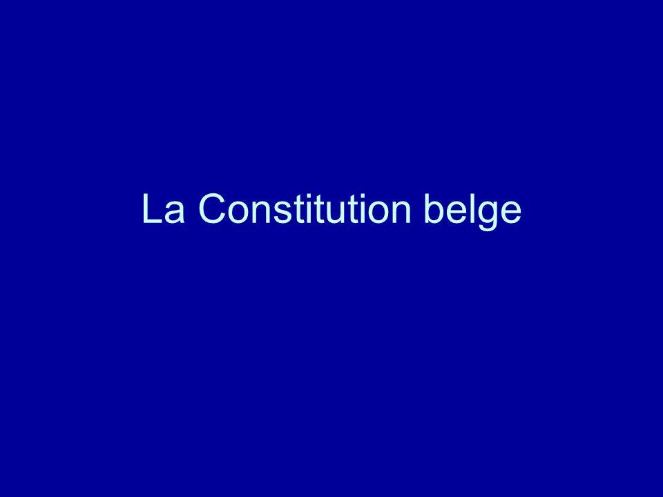 La Constitution belge
