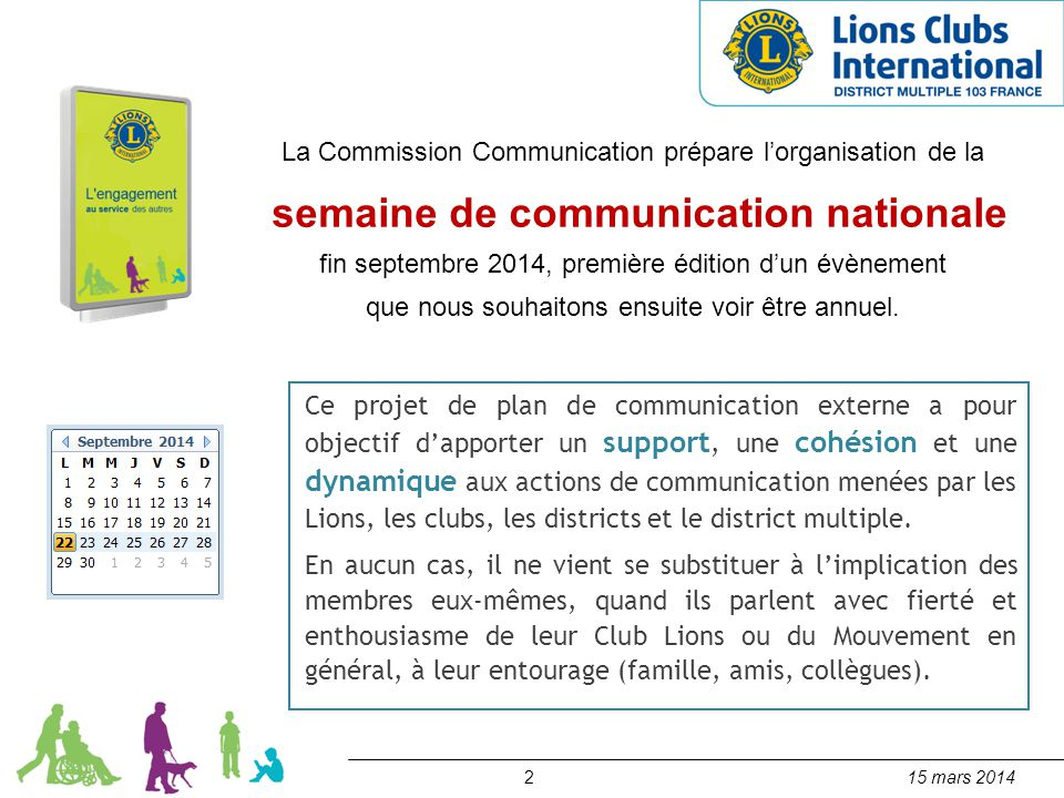 semaine de communication nationale