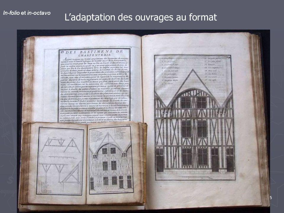 L'adaptation des ouvrages au format
