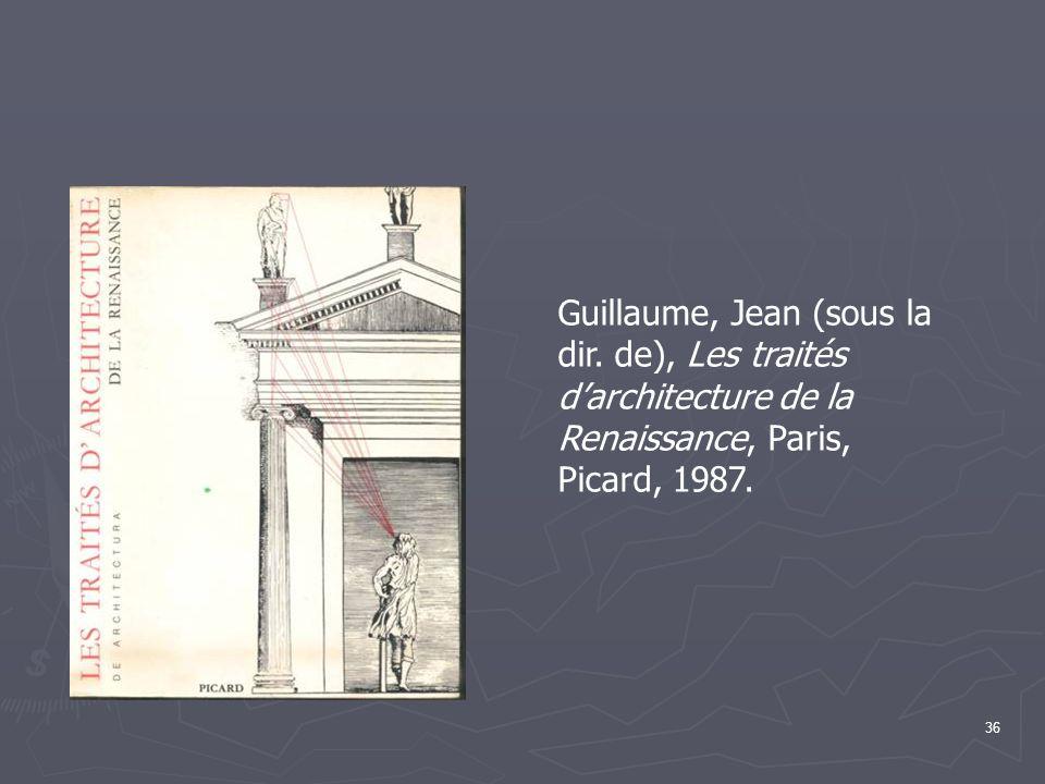 Guillaume, Jean (sous la dir