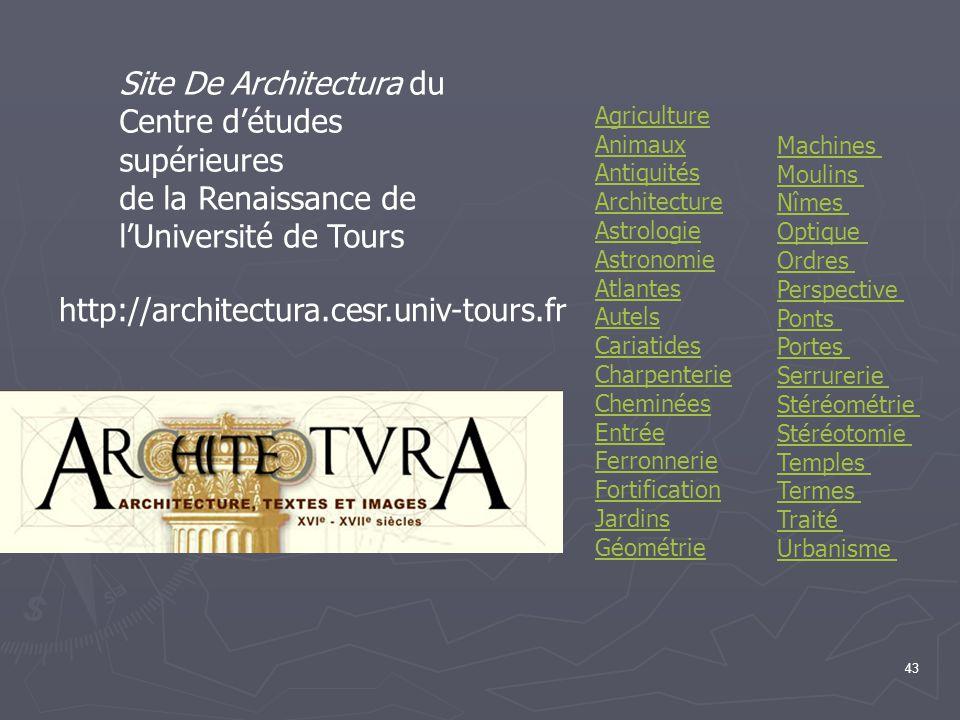 Site De Architectura du Centre d'études supérieures
