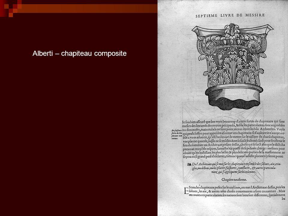 Alberti – chapiteau composite