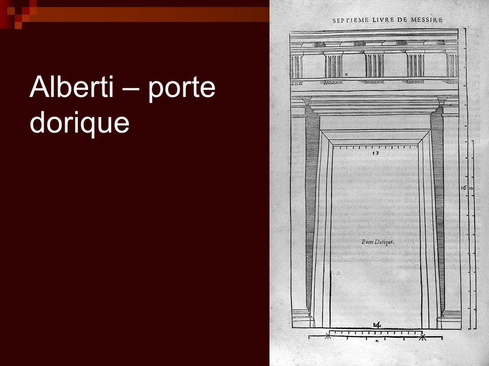 Alberti – porte dorique
