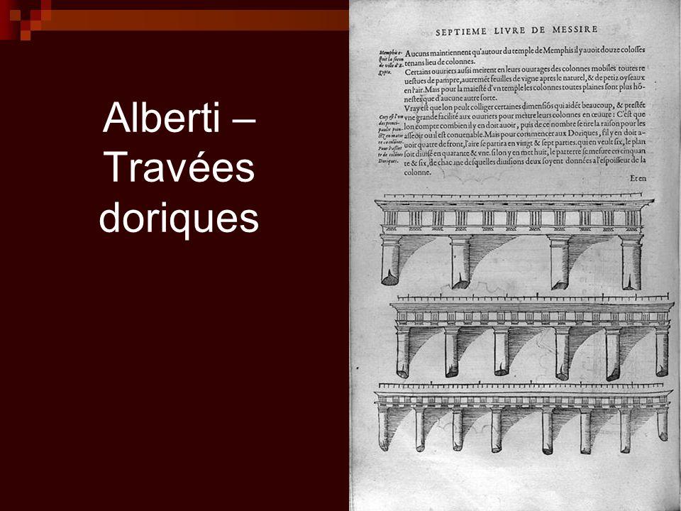 Alberti – Travées doriques