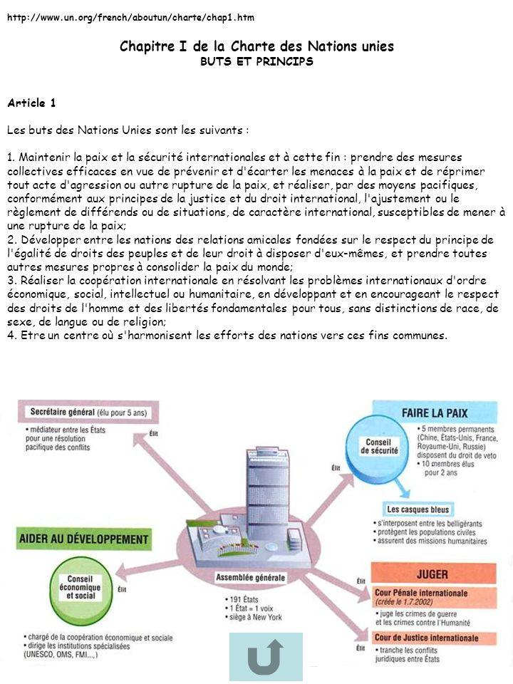 Chapitre VII de la Charte des Nations unies