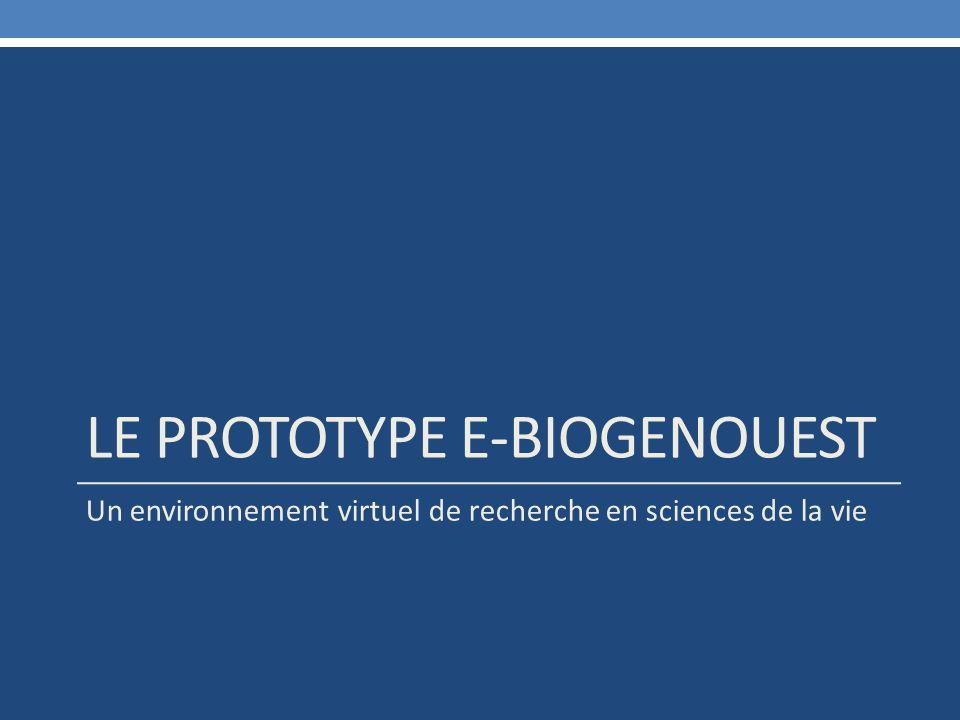 Le prototype e-biogenouest