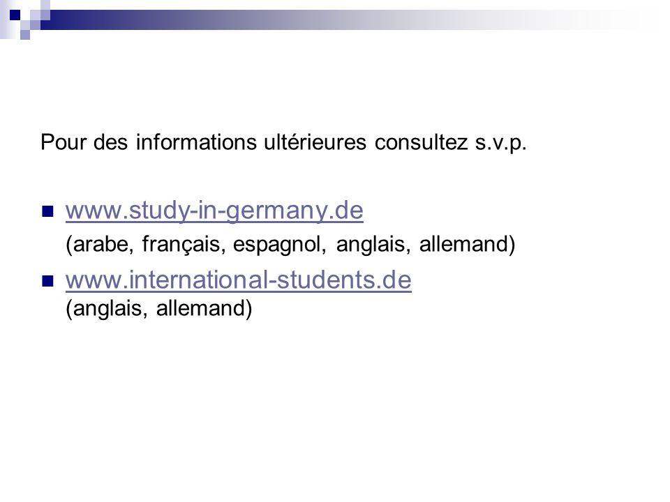 www.international-students.de (anglais, allemand)