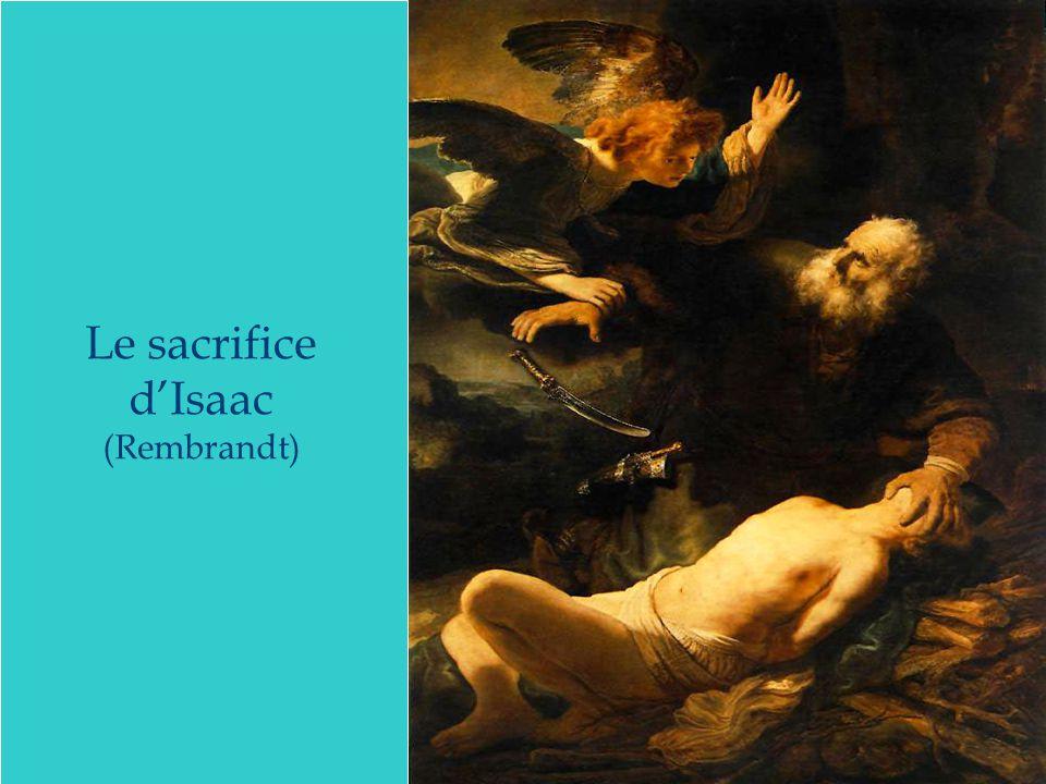Le sacrifice d'Isaac (Rembrandt)