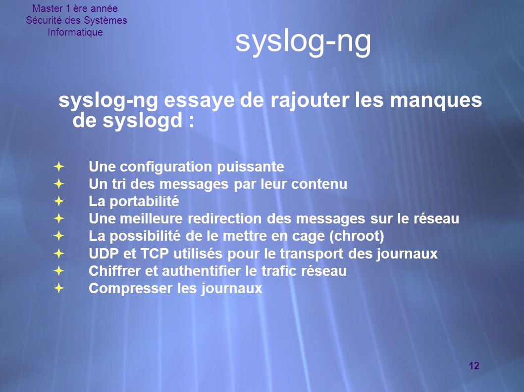 La journalisation syslog ppt video online t l charger for Syslog ng template example