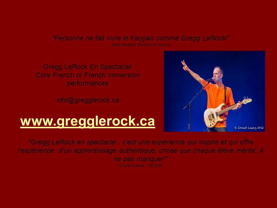 info@gregglerock.ca www.gregglerock.ca