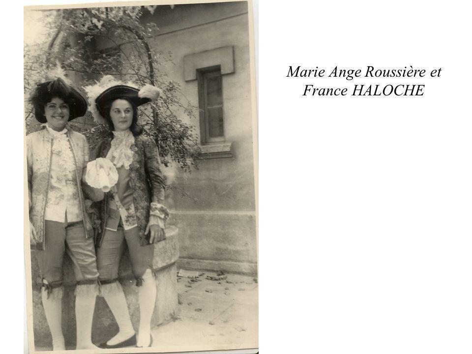Marie Ange Roussière et France HALOCHE