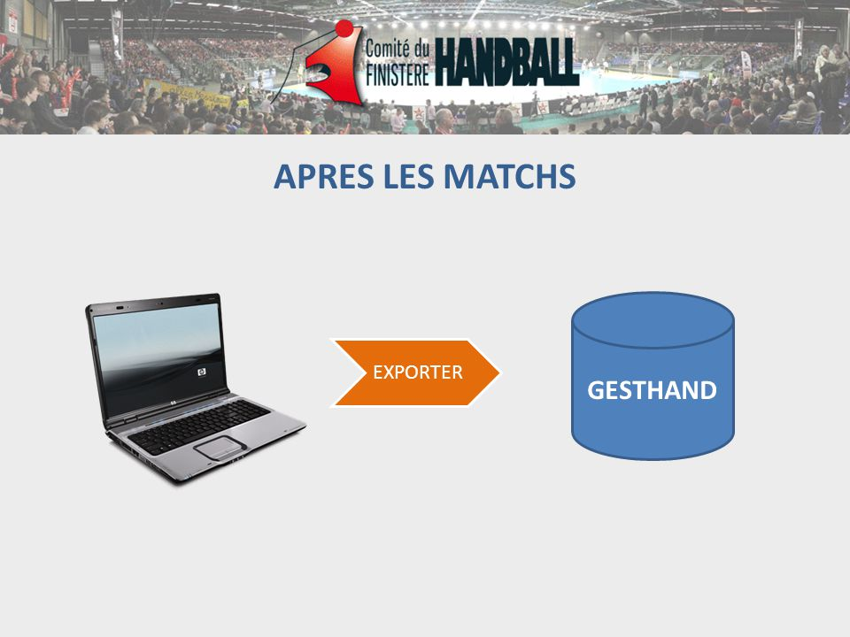 APRES LES MATCHS GESTHAND EXPORTER