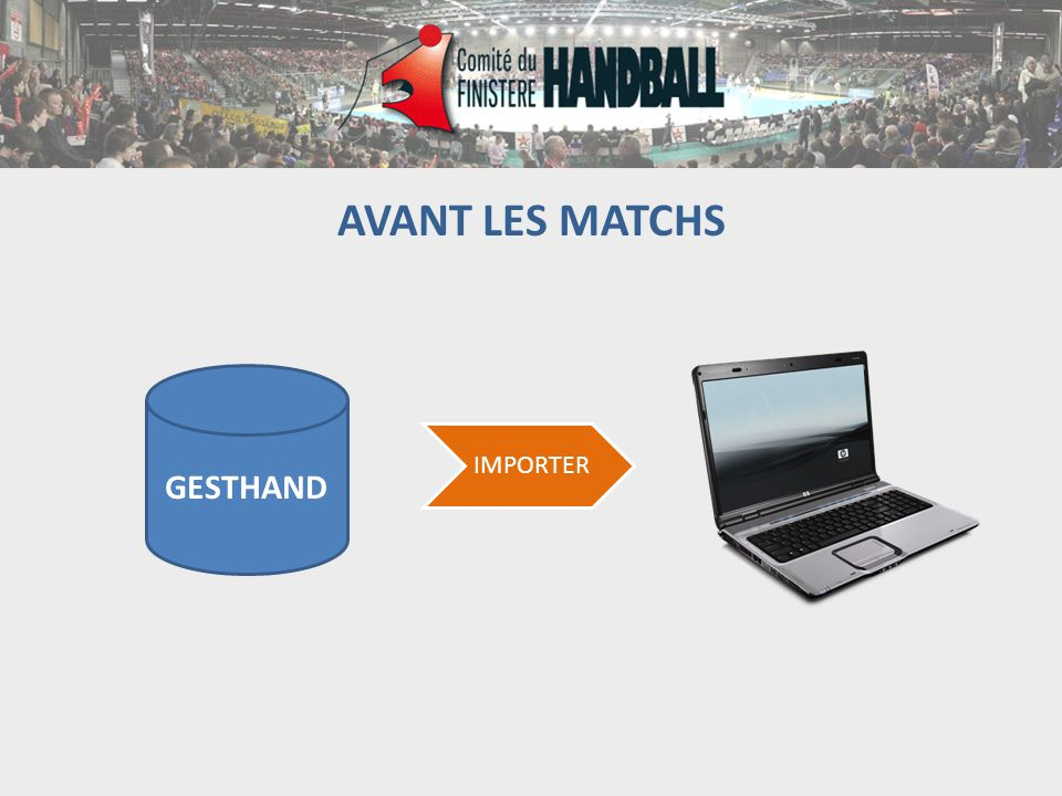 AVANT LES MATCHS GESTHAND IMPORTER