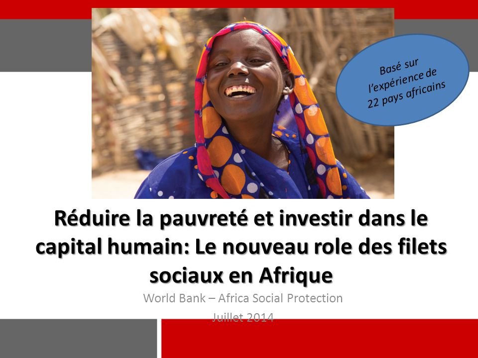 World Bank – Africa Social Protection Juillet 2014