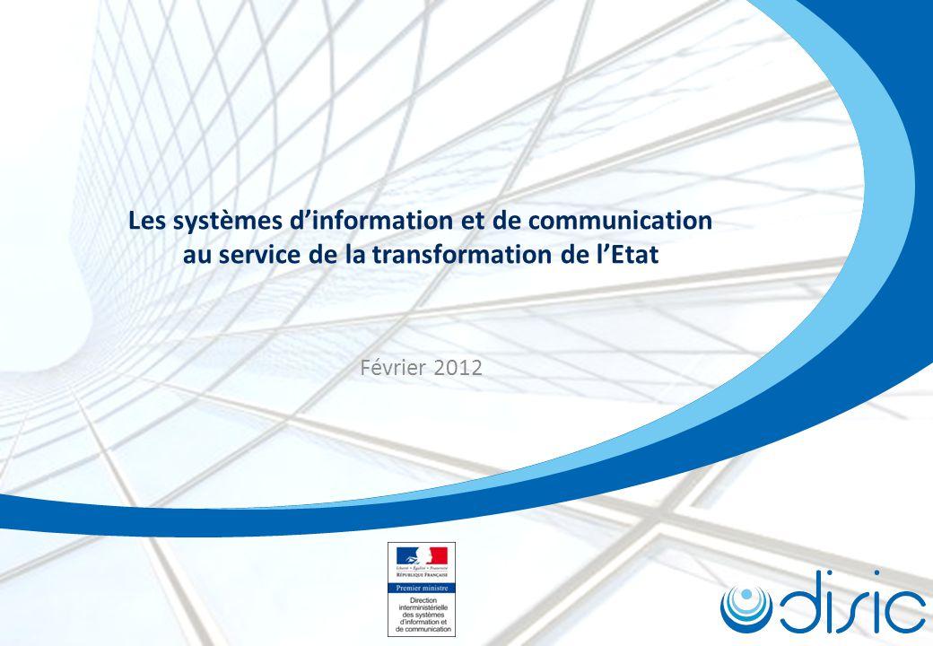 Les systèmes d'information et de communication au service de la transformation de l'Etat
