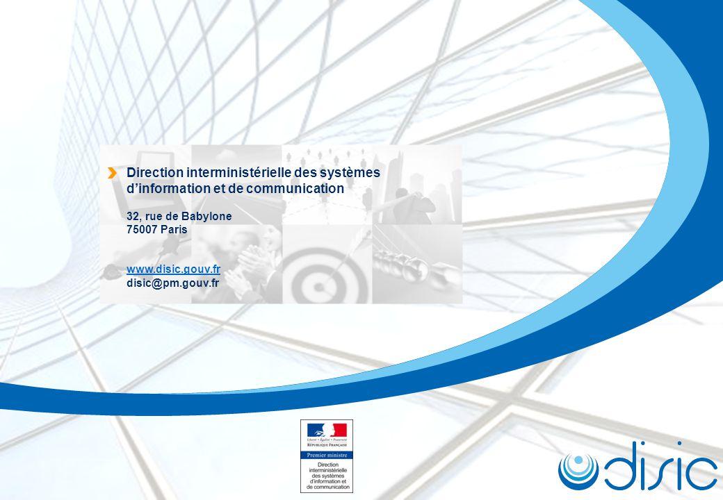 Direction interministérielle des systèmes d'information et de communication