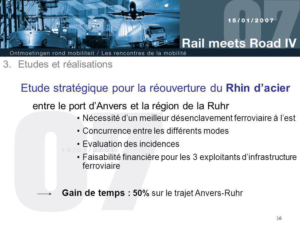 Etude stratégique pour la réouverture du Rhin d'acier