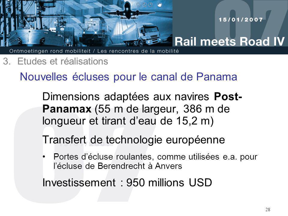 Nouvelles écluses pour le canal de Panama