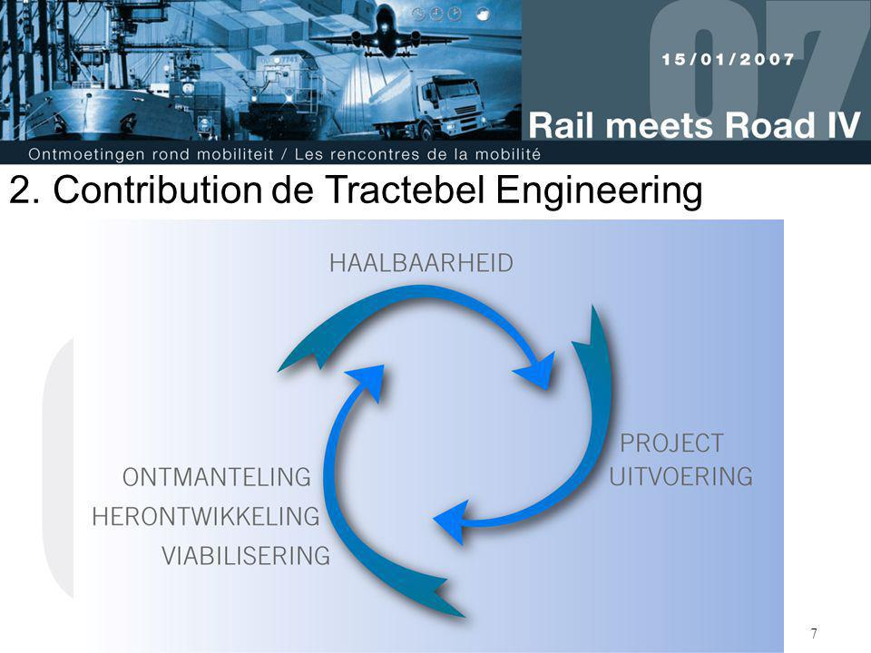Contribution de Tractebel Engineering