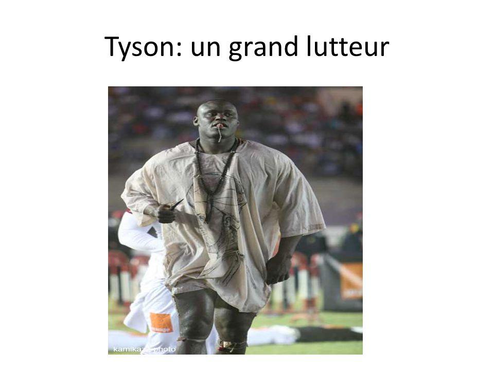 Tyson: un grand lutteur