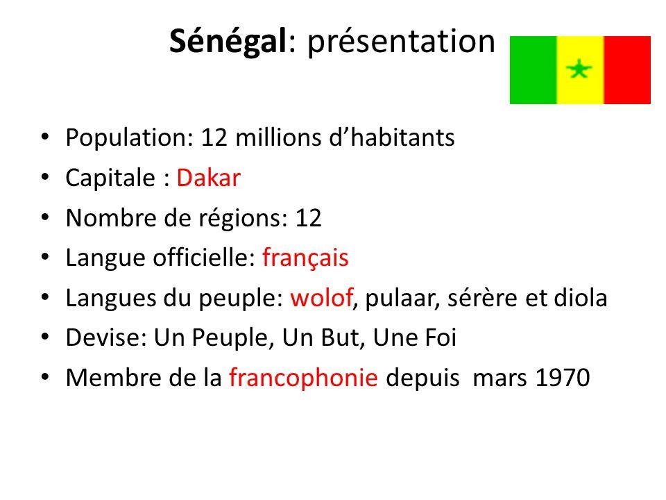 Sénégal: présentation