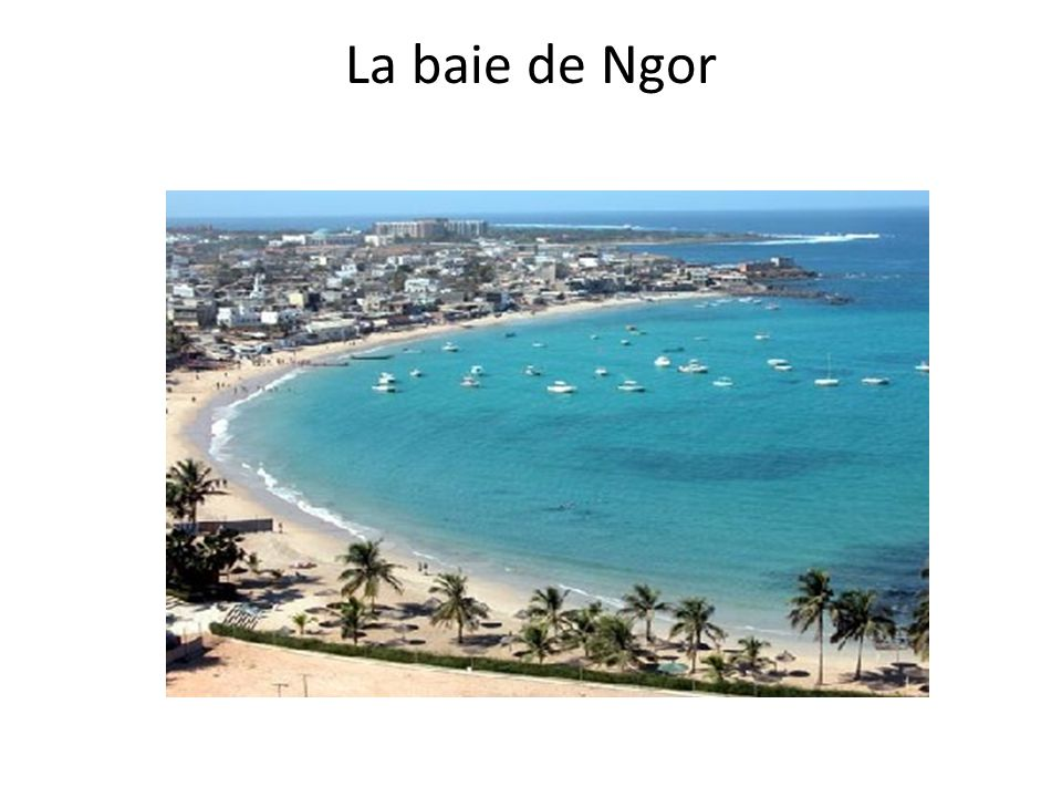 La baie de Ngor