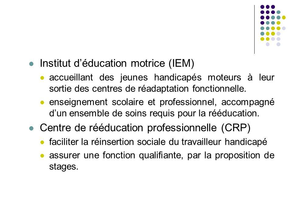 Institut d'éducation motrice (IEM)