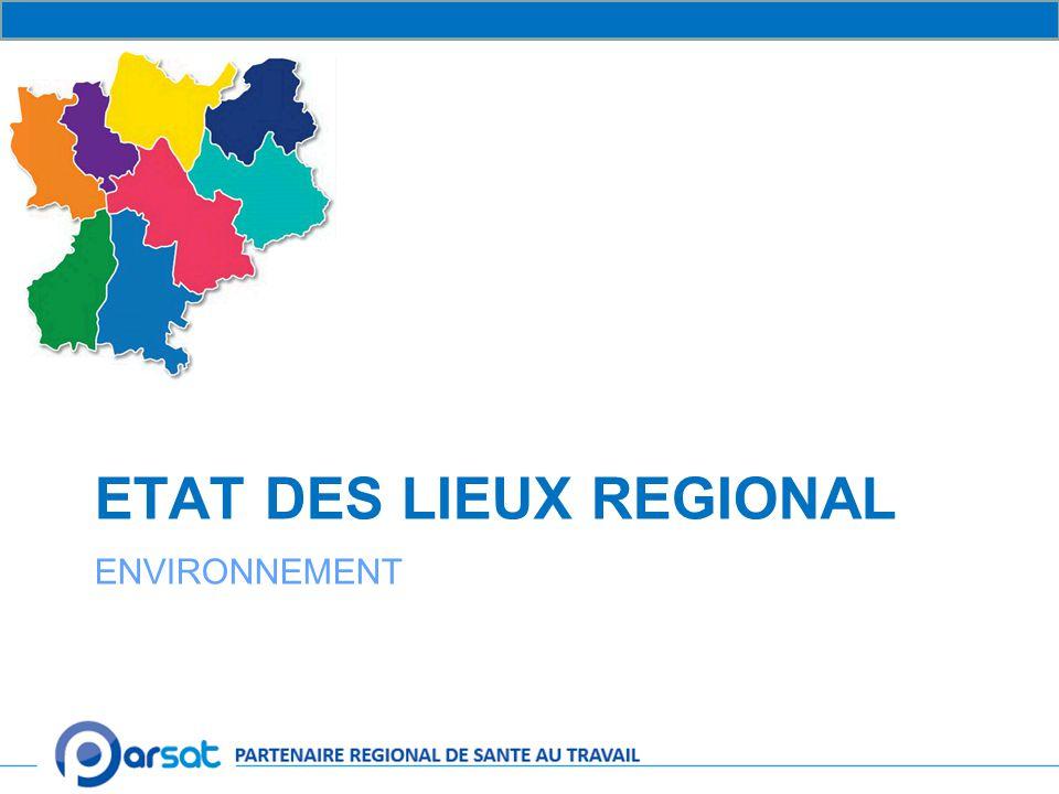 ETAT DES LIEUX REGIONAL