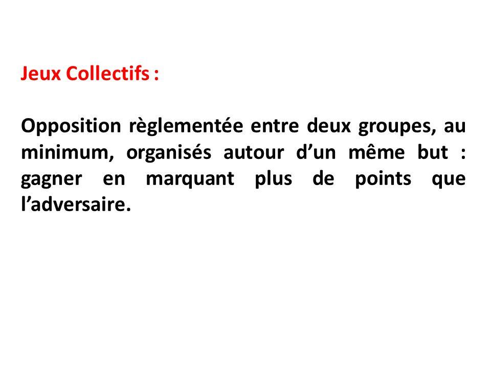 Jeux Collectifs :