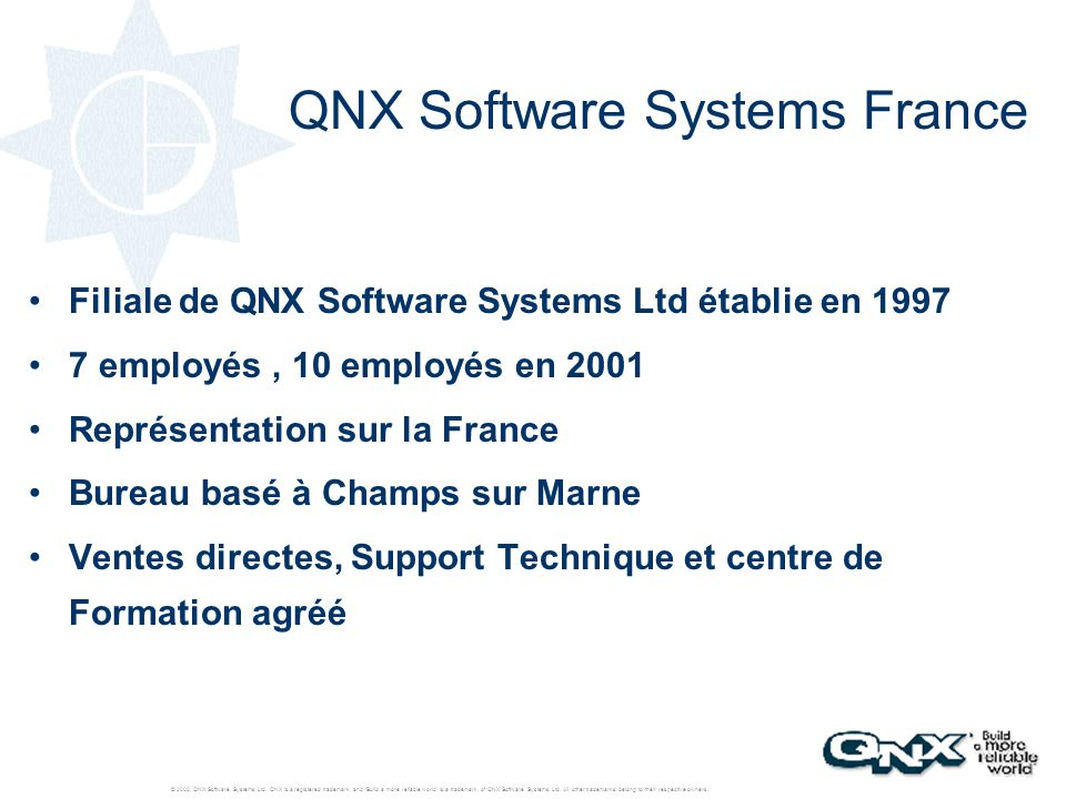 QNX Software Systems France