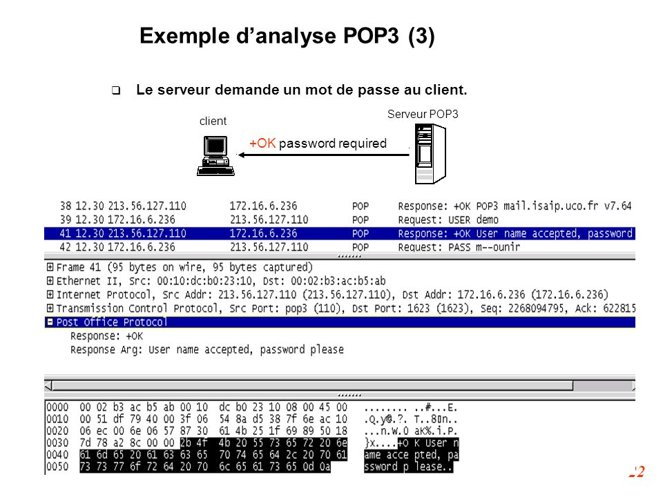 Exemple d'analyse POP3 (3)‏