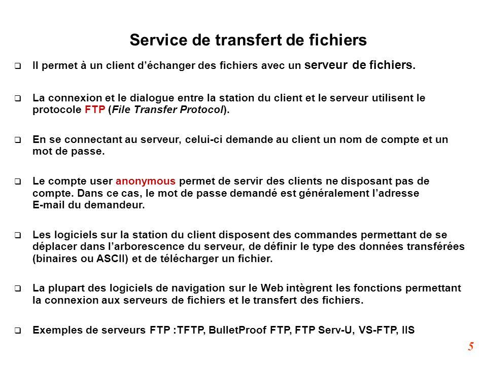 Service de transfert de fichiers