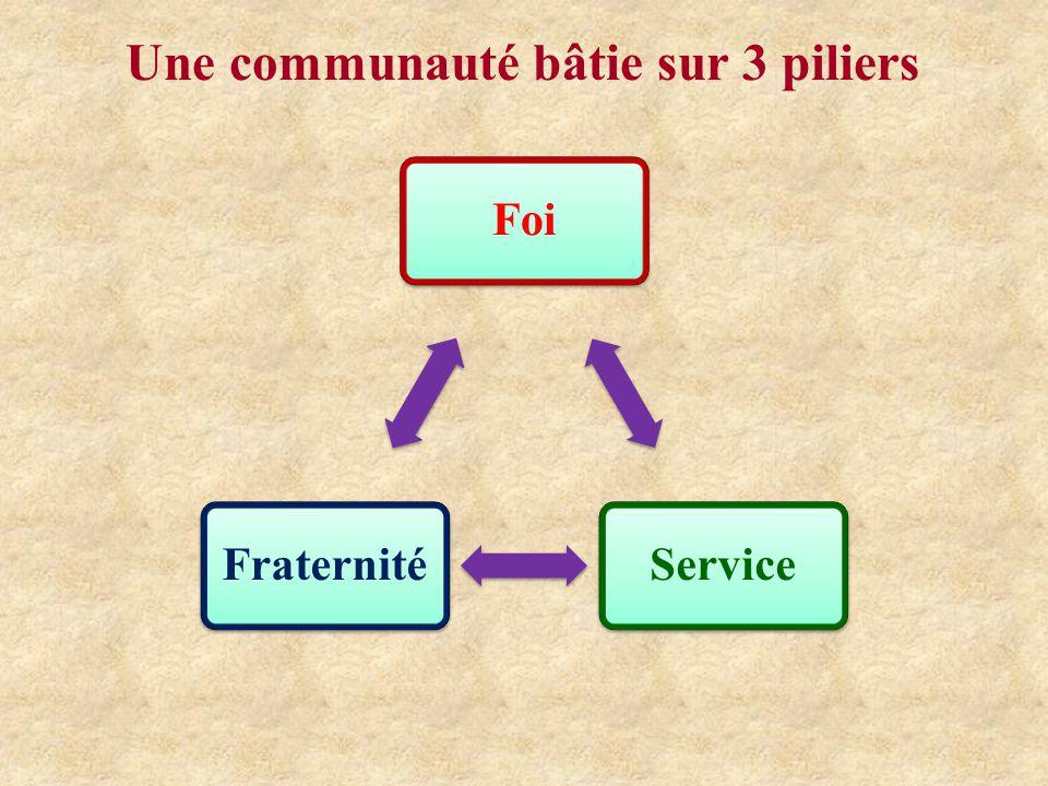 Une communauté bâtie sur 3 piliers
