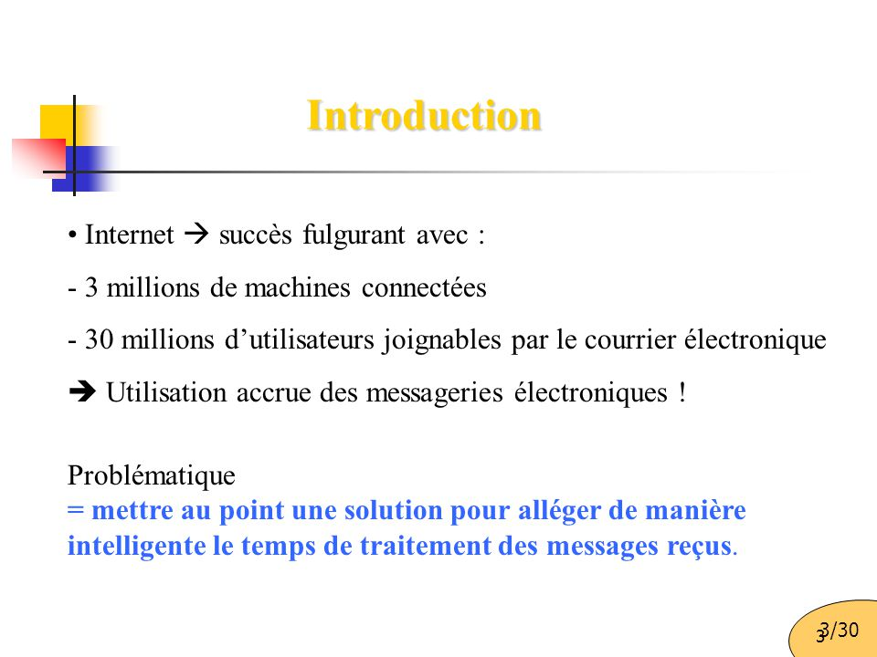 Introduction Internet  succès fulgurant avec :