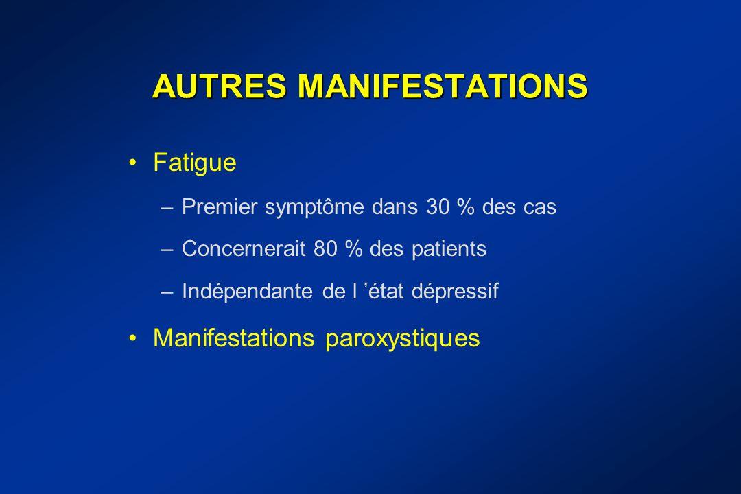 AUTRES MANIFESTATIONS