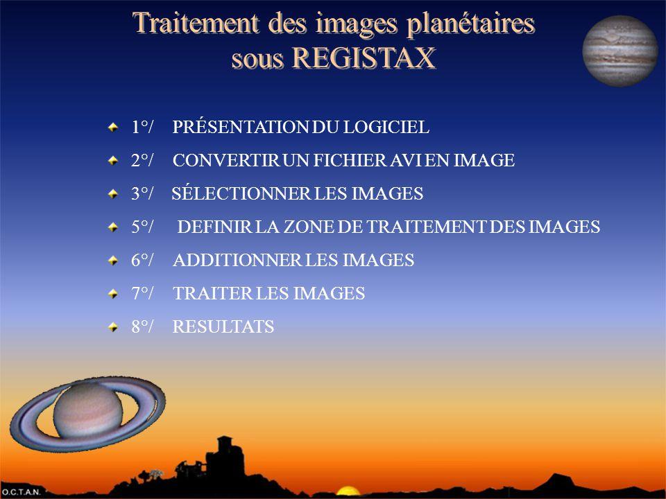 Traitement des images planétaires