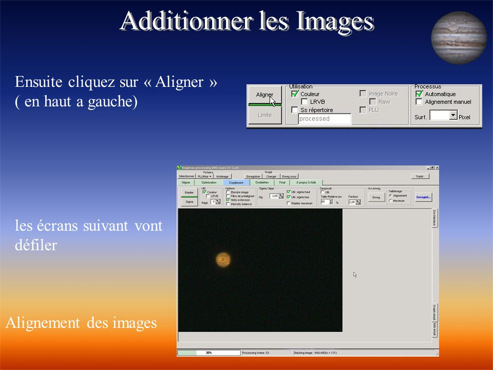 Additionner les Images